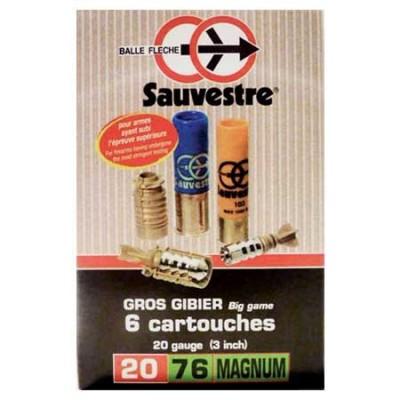 Balle fl̬che Sauvestre CAL 20/76
