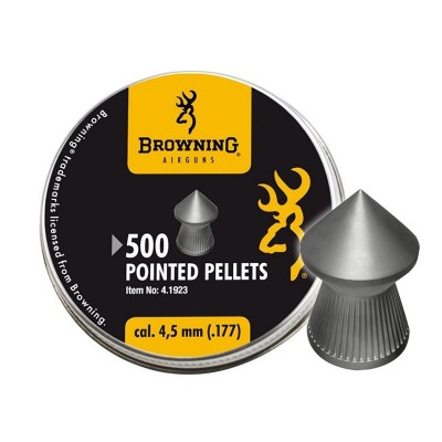 PLOMB BROWNING TETE POINTU 4,5mm