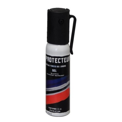 AEROSOL ANTI-AGRESSION FORCE LE PROTECTEUR GAZ CS 25 ML