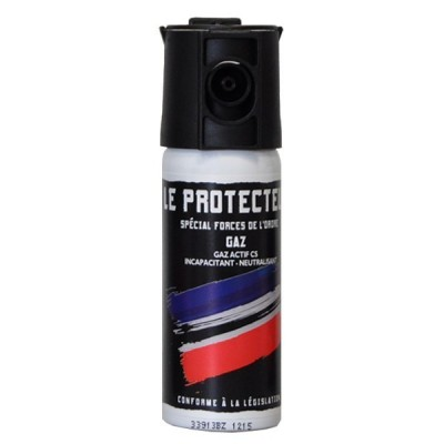 AEROSOL ANTI-AGRESSION FORCE LE PROTECTEUR GAZ CS 50 ML