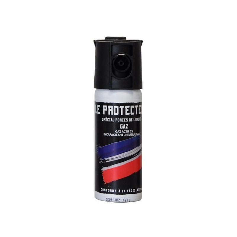 AÉROSOL DE DÉFENSE LE PROTECTEUR GAZ CS 50 ML