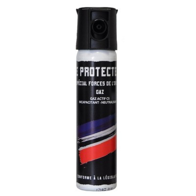 AEROSOL ANTI-AGRESSION FORCE LE PROTECTEUR GAZ CS 75 ML