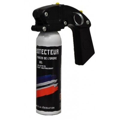 AEROSOL ANTI-AGRESSION FORCE LE PROTECTEUR GEL CS 100 ML POIGNEE