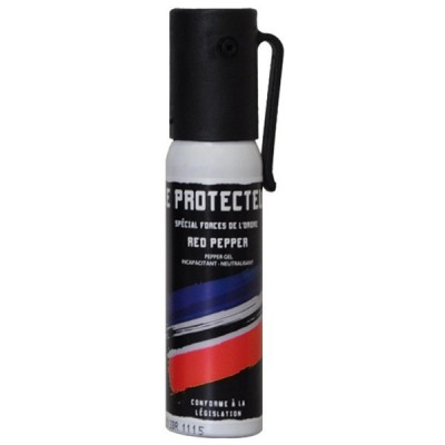 AEROSOL ANTI-AGRESSION FORCE LE PROTECTEUR GEL POIVRE 25 ML