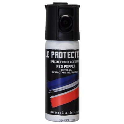AEROSOL ANTI-AGRESSION FORCE LE PROTECTEUR GEL POIVRE 50 ML