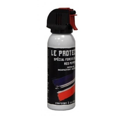 AEROSOL ANTI-AGRESSION FORCE LE PROTECTEUR GEL POIVRE 100 ML ACCUSOL