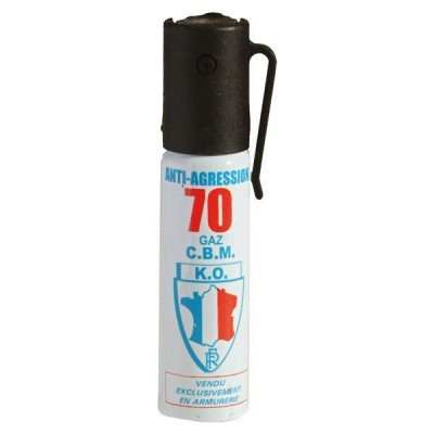 AEROSOL ANTI-AGRESSION PUISSANCE 70 25 ML GAZ CS
