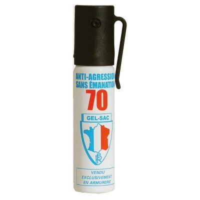 AEROSOL ANTI-AGRESSION PUISSANCE 70 25 ML GEL CS