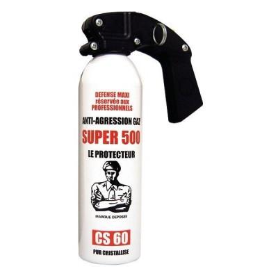 AÉROSOL DE DÉFENSE GAZ SUPER 500 500 ML
