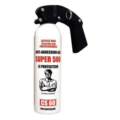 AEROSOL ANTI-AGRESSION GAZ SUPER 500 - 500 ML