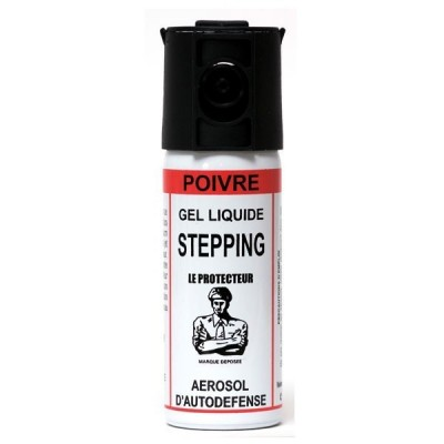 STEPPING - GEL POIVRE - 50 ML