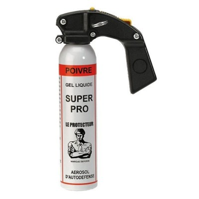AEROSOL ANTI-AGRESSION SUPER PRO - GEL POIVRE - 300 ML