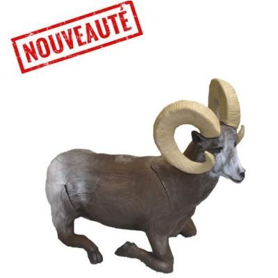 CIBLE 3D ANIMALIERE MOUFLON COUCHE