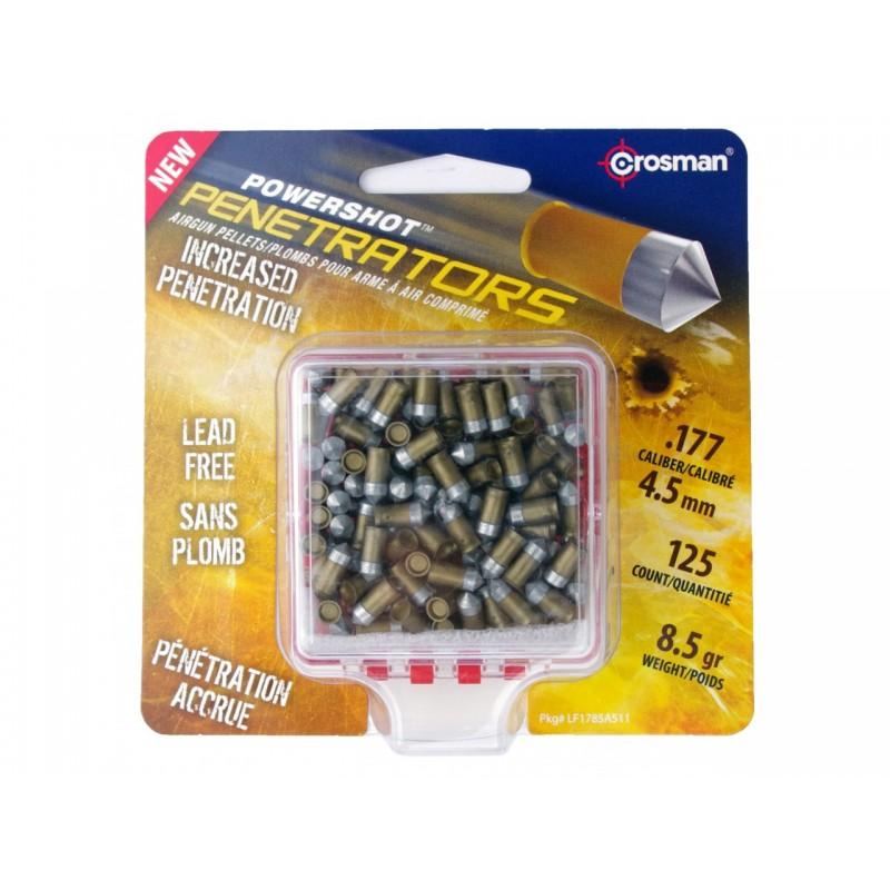 BTE DE 125 PLOMB POWER SHOT POINTU 4.5mm