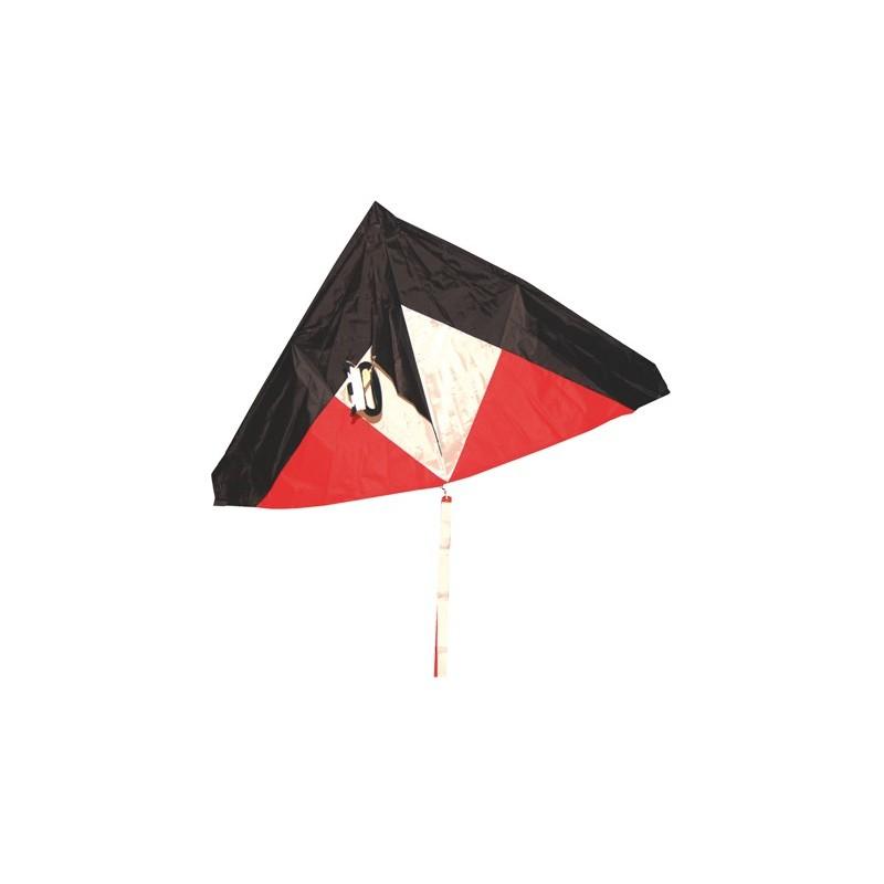 Cerfs volant Noir/Rouge