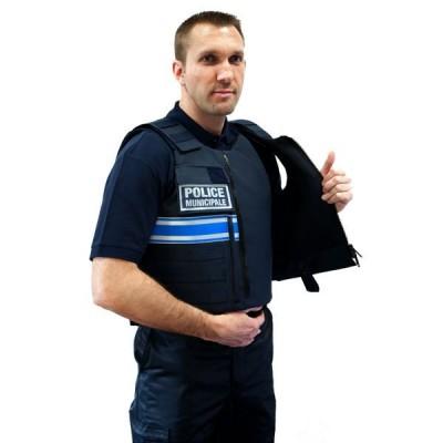 Gilet pare balles Tactic Police Municipale Homme