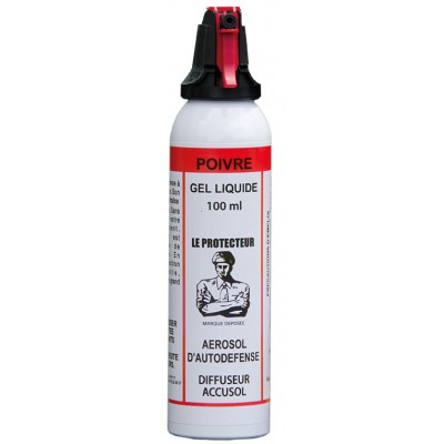 AEROSOL ANTI-AGRESSION SUPER PRO - GEL POIVRE - 100 ML ACCUSOL