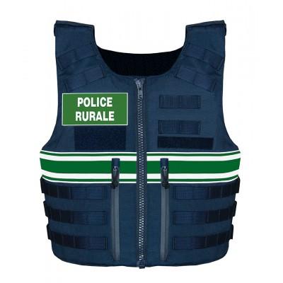 Gilet pare balles IIIA Full Tactical Police Rurale Homme