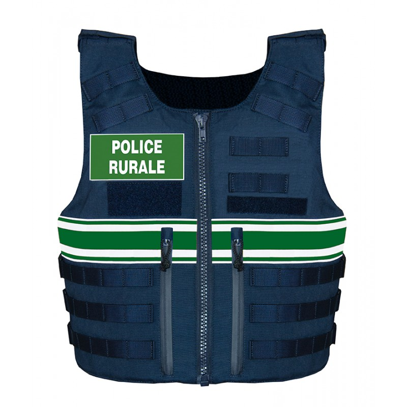 Gilet pare balles IIIA Full Tactical Police Rurale Homme