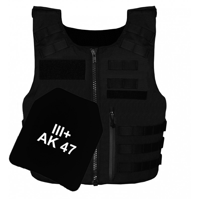 Gilet pare balles III+ AK Full Tactical SECURITY Homme
