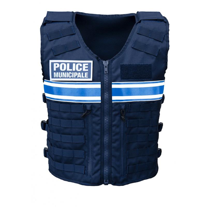 VESTE TACTIQUE Police Municipale Unisexe