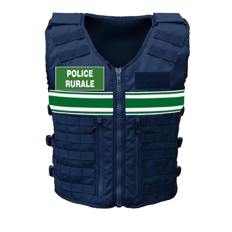 VESTE TACTIQUE Police Rurale Unisexe