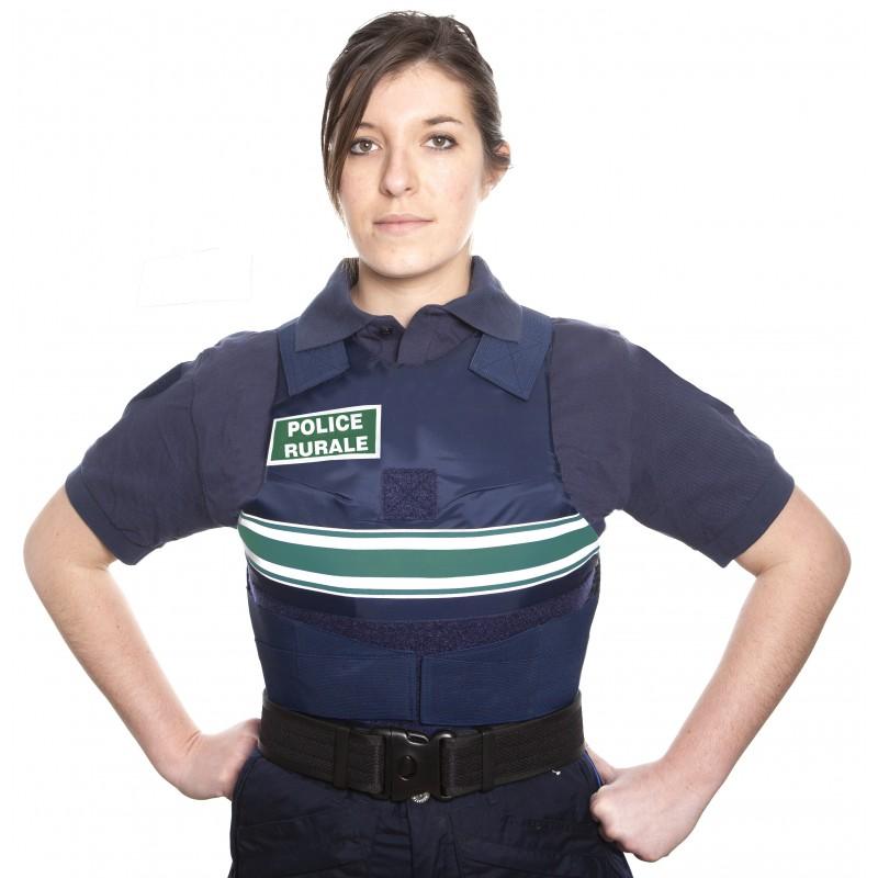 Gilet pare balles Police Rurale PM Femme