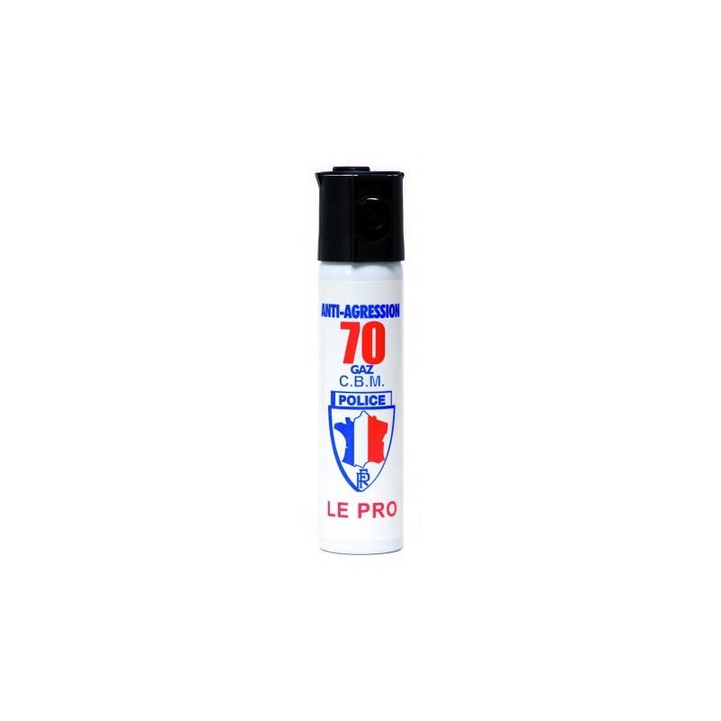 AEROSOL ANTI-AGRESSION PUISSANCE 70 75 ML GAZ CS