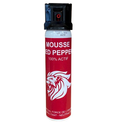 AEROSOL ANTI-AGRESSION MOUSSE RED PEPPER 75 ML