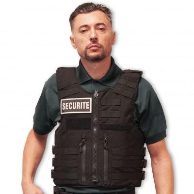 Gilet pare balles IIIA Full Tactical SECURITYHomme