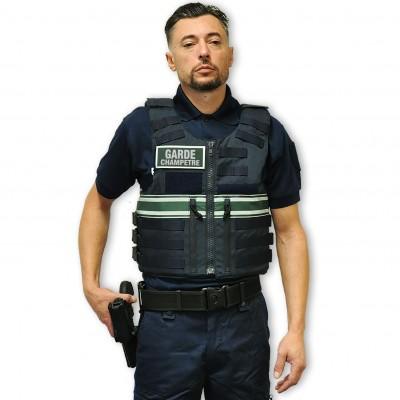 Gilet pare balles Full Tacticalhomme Police Rurale IIIA