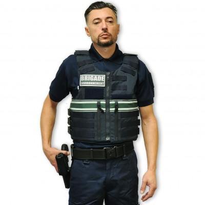 Gilet pare balles Full Tacticalhomme BRIGADE ENVIRONNEMENT IIIA
