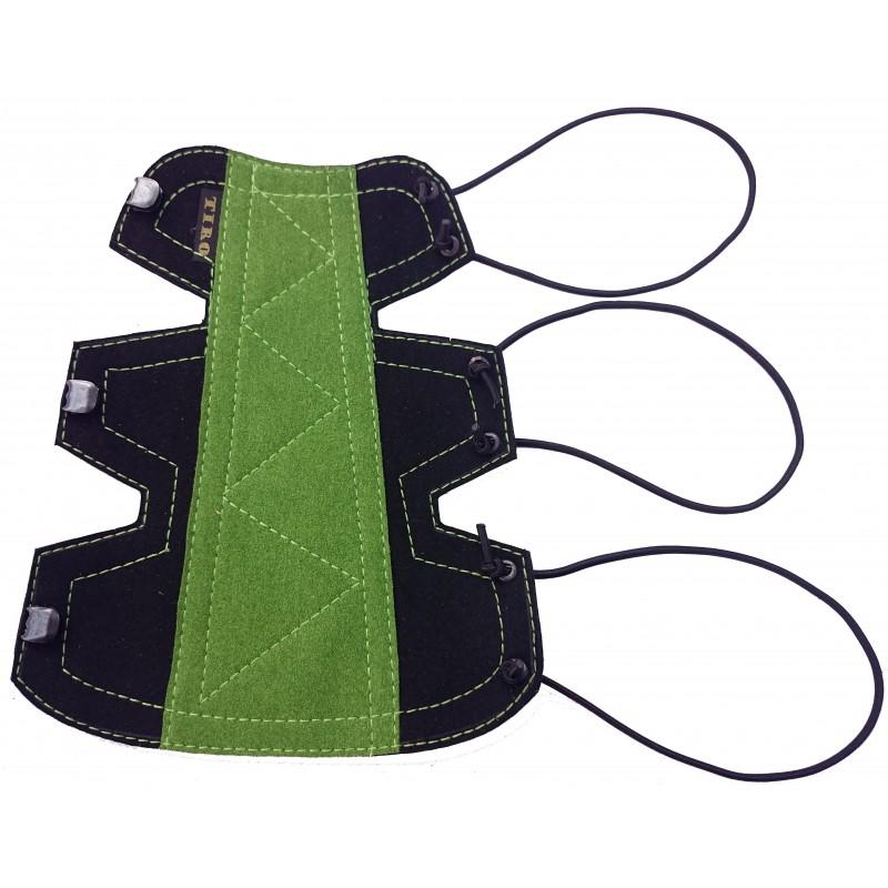 Bracelet Classique Small Noir/ Vert