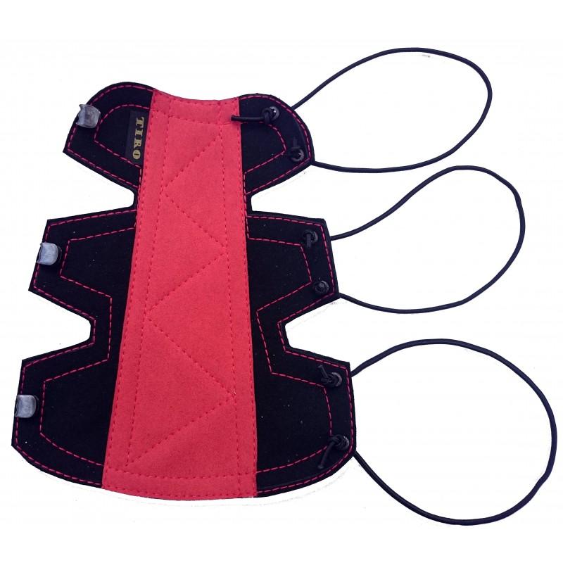 Bracelet Classique Small Noir/ Rouge