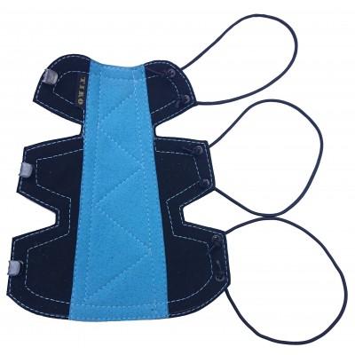 Bracelet Classique Small Noir/Bleu