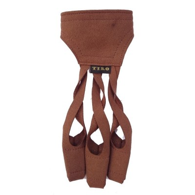 GANTS CROSS MARRON