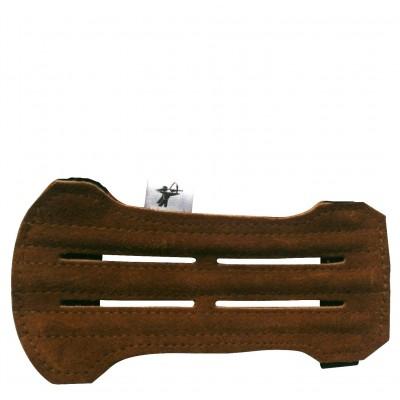 Brassard cuir simple trois renforts sued̩