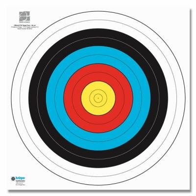 Blason WA 40 cm Entrainement/Paquet de 100 blasons/42.5 x 42.5 cm