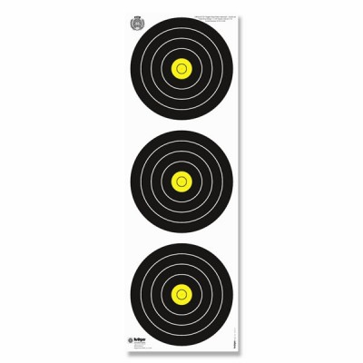 Blason WA Tir a l'arc la campagne 40 cm Arme/Paquet de 100 blasons/ 22 x 66 cm