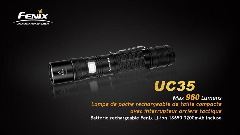 lampe fenix uc 35